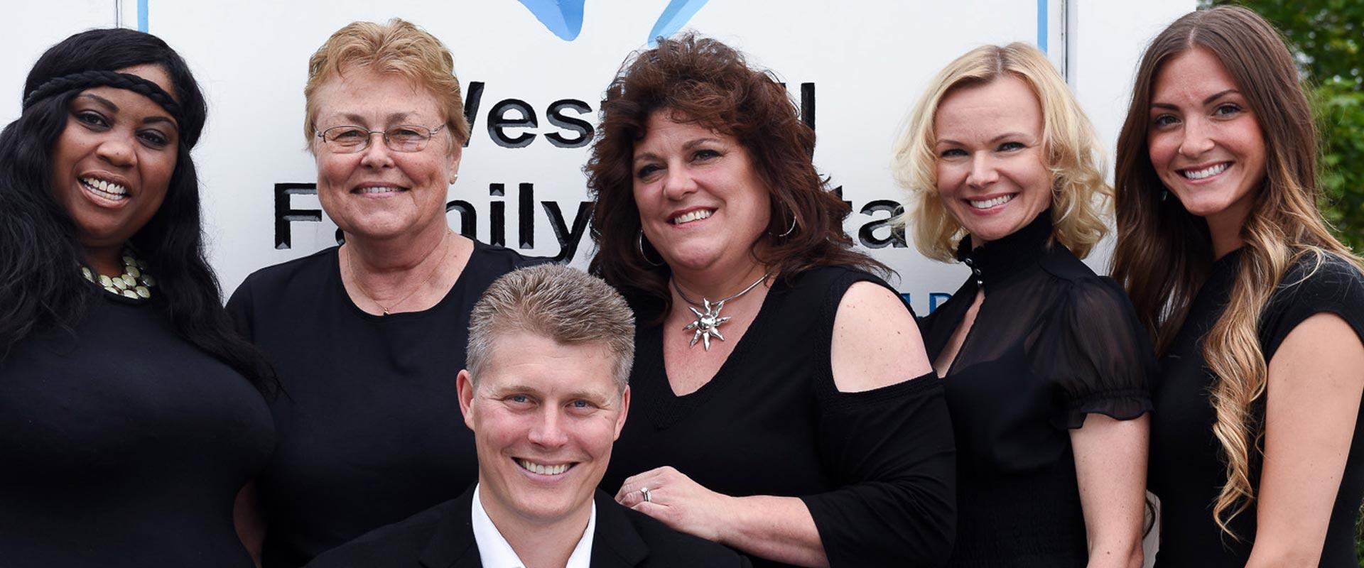 West Hill Family Dental team